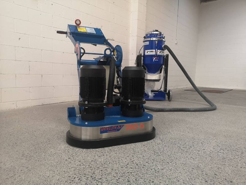 Concrete grinder and Concrete Polisher